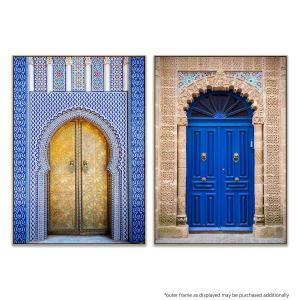 Royal Palace Doors | Essaouira Blue