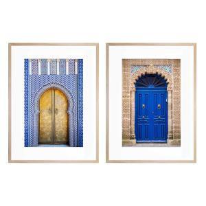 Royal Palace Doors | Essaouira Blue