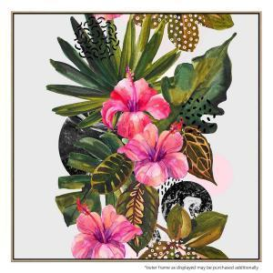 Tahitian Melodies - Print - Natural Floating Frame (Showroom Cle