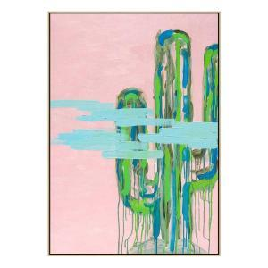Fanta Sei - Print - Natural Floating Frame (Showroom Clearance)