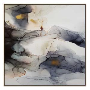 Ink Composition 10 - Print - Natural Floating Frame (Showroom Cl