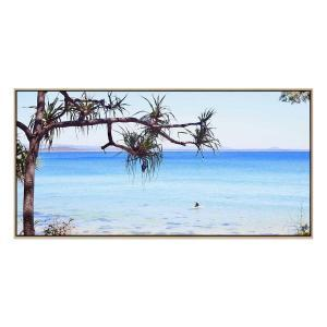 A Place To Chill - Print - Black Floating Frame (FLASH SALE)