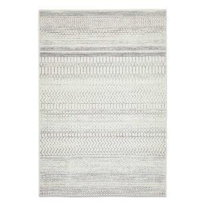 Chrome Har Rug - Silver