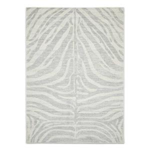 Chrome Sav Rug - Silver