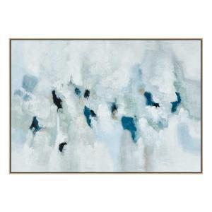 Frostbite - Painting - Natural Floating Frame
