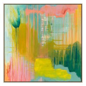 Radiance - Painting - Natural Floating Frame