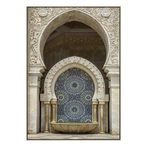 Mosaic Dream - Print - Natural Floating Frame
