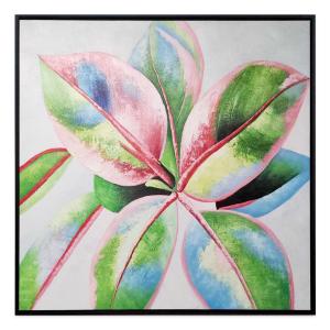 Botanical Harmony 2 - Painting - Black Floating Frame