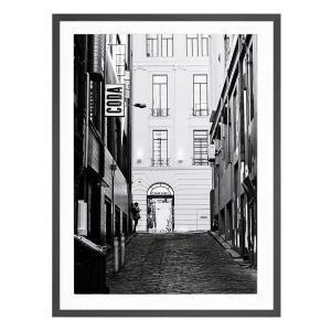 Haute Moment - Black Framed Print