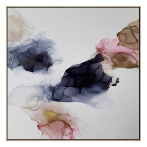 Ink Composition 23 - Print - Natural Floating Frame