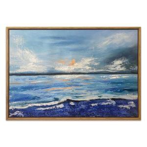 Lonsdale - Painting - Natural Floating Frame