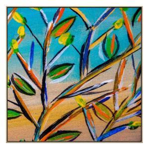 Noosa Australis 2 - Painting - Natural Floating Frame