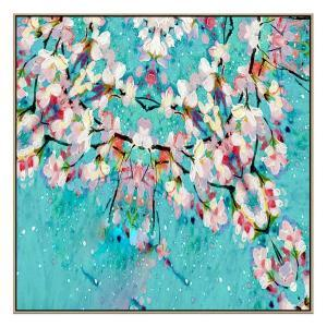 Saison Prix - Painting - Natural Floating Frame