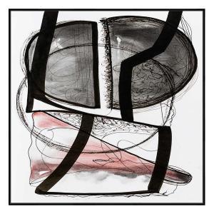 A Sweet Kiss - Print - Black Floating Frame
