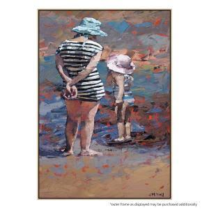 Mother And Daughter - Print