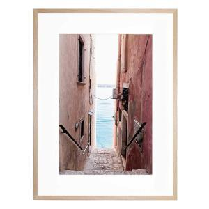 Laneways of Rovinj - Framed Print - Natural Frame