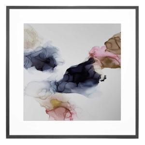 Ink Composition 23- Framed Print - Black Frame
