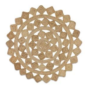 Atrium Tessellate Rug - Natural