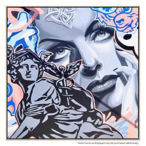 Bundall Graffiti - Print - Natural Frame