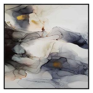 INK COMPOSITION 10 - Black Floating Frame