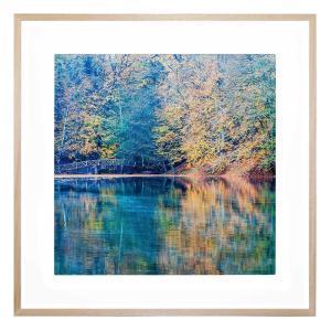 Kyoto Afterspring - Framed Print - Natural Frame