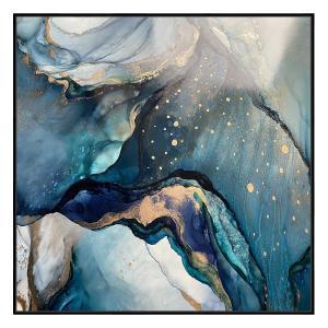 Deep Blue 2 - Print - Black Floating Frame