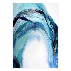 Volume Blue 1 - Canvas Print