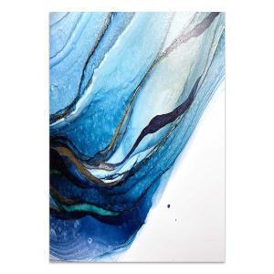Volume Blue 2 - Canvas Print