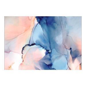 Moon Blue - Canvas Print