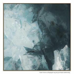 Teal And Grey - Painting