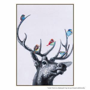 Deer Harmony - Painting