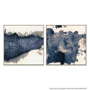 Granulated Blue - Moving Through - Print