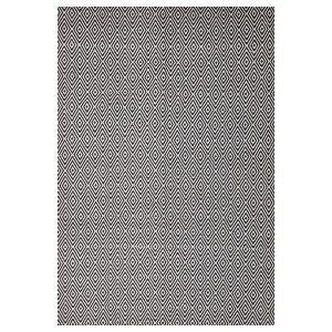 Abode Diamond Rug - Black