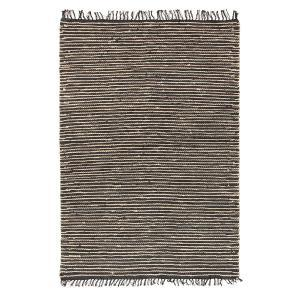 Atrium Delta Rug - Natural/Black