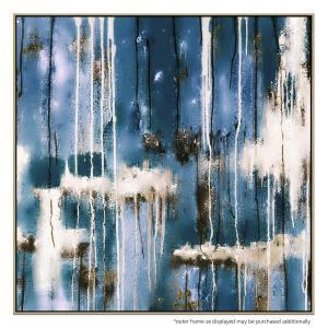 Wall of Blue - Painting