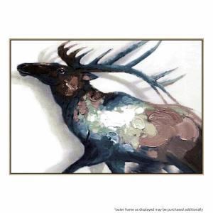 Elk N Horns - Painting