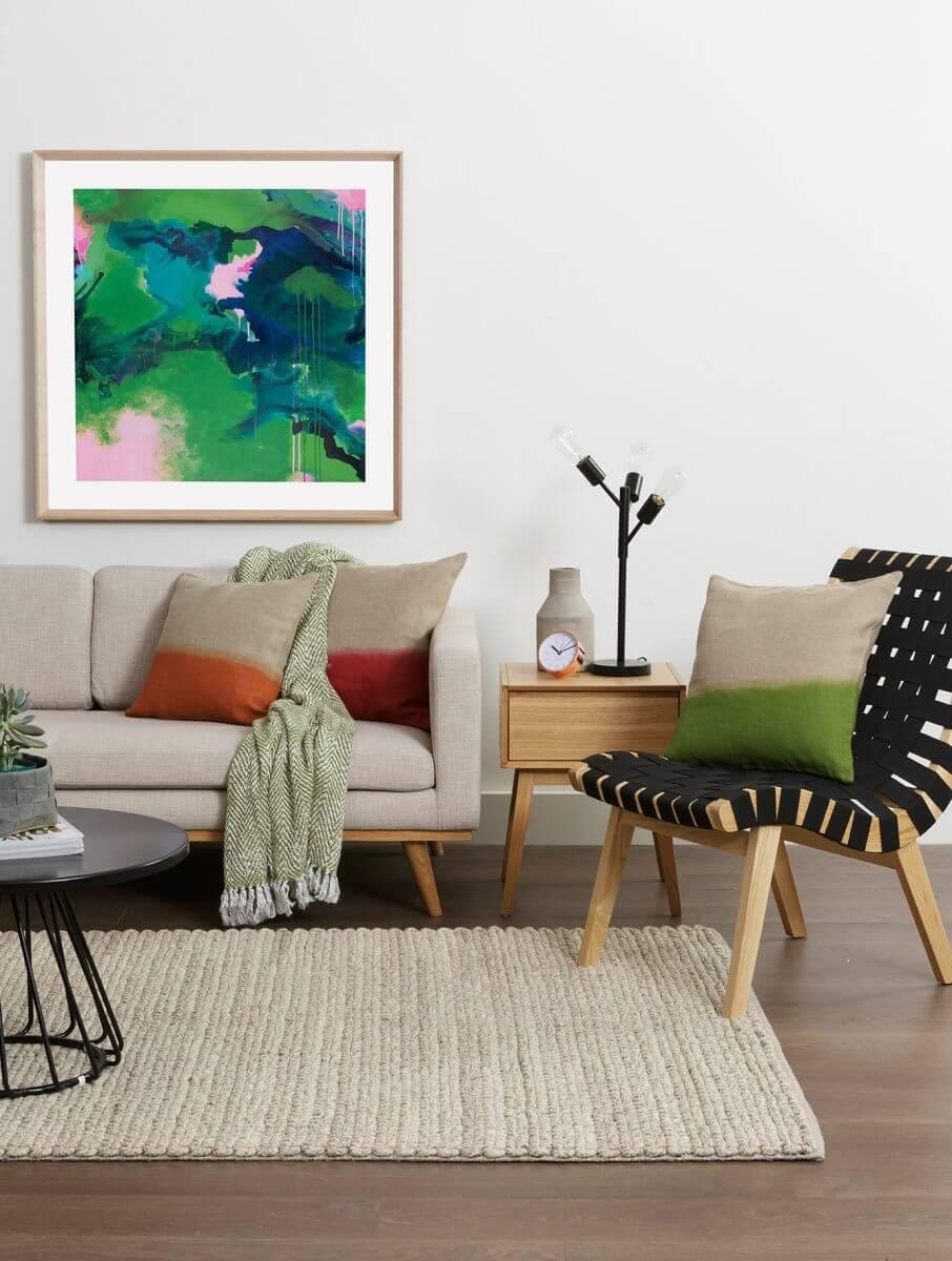 FELINI_Insitu3_$799_Natural james treble rugspace collection