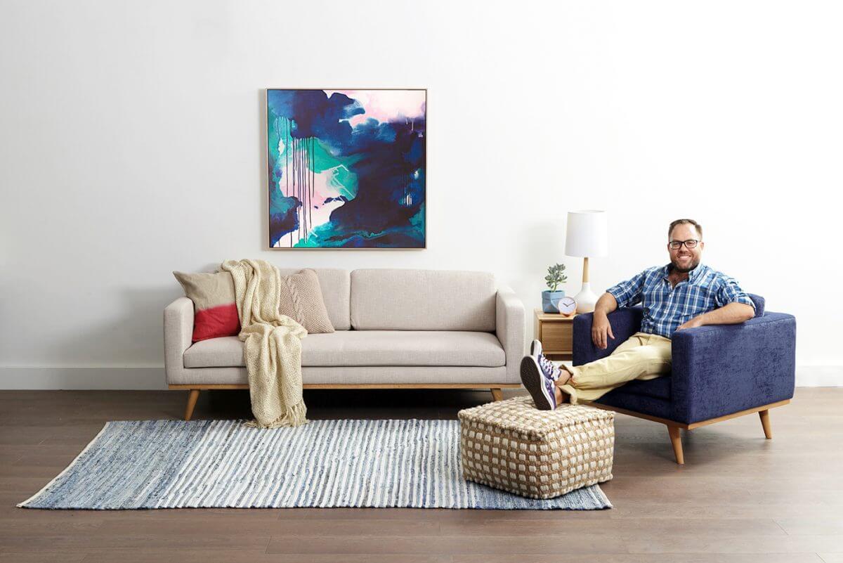 KLEE_JamesTrebleHero1_$299_LightDenim james treble rugspace collection