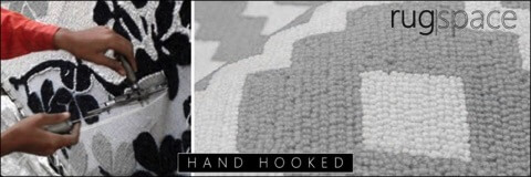 Hand hooked rug