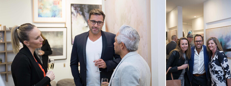 united interiors launch showroom opening vip party guests