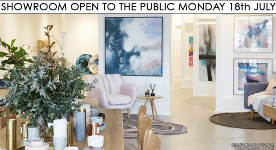 Showroom Opening Monday 18th July: The Final Reveal