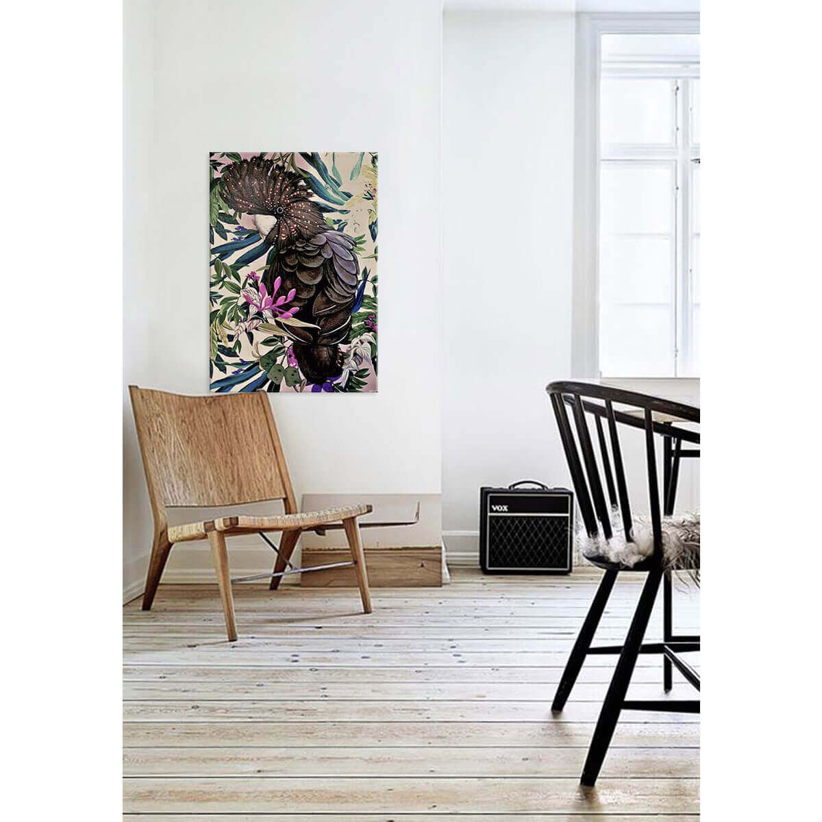 sirieuse sway hand painted art hand painting spring inspired pop of colour bright vibrant on trend contemporary art
