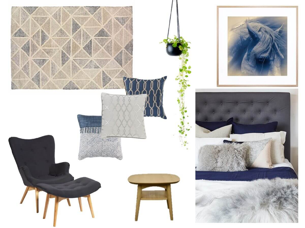 United Interiors Sample Mood Board