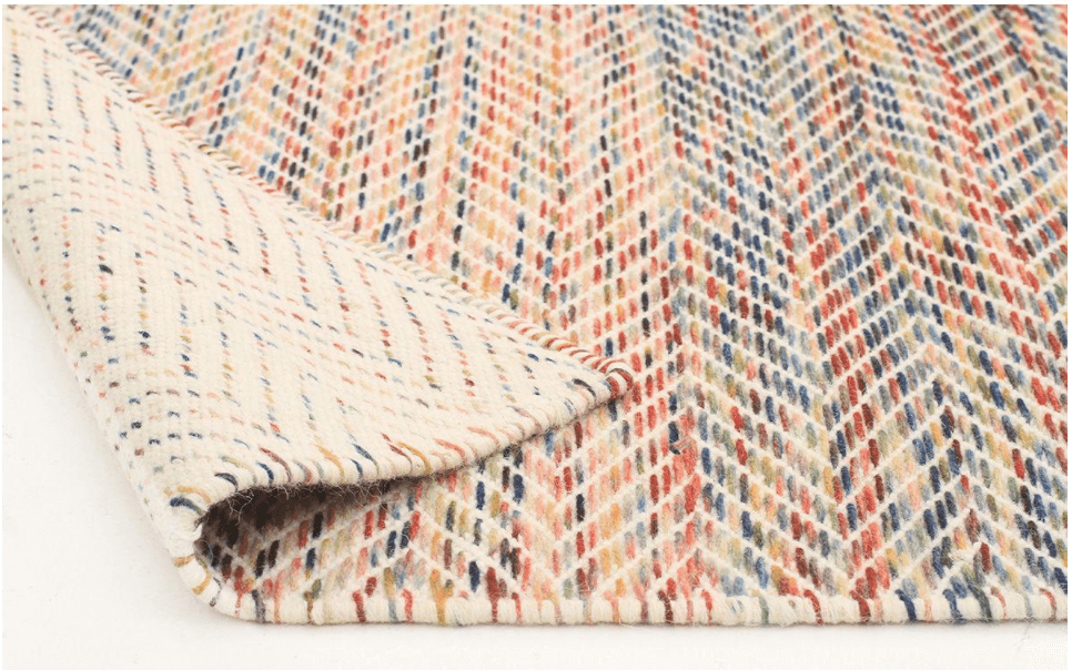 RUG|SPACE - SKANDI 311 - MULTI rainbow wool rug united interiors