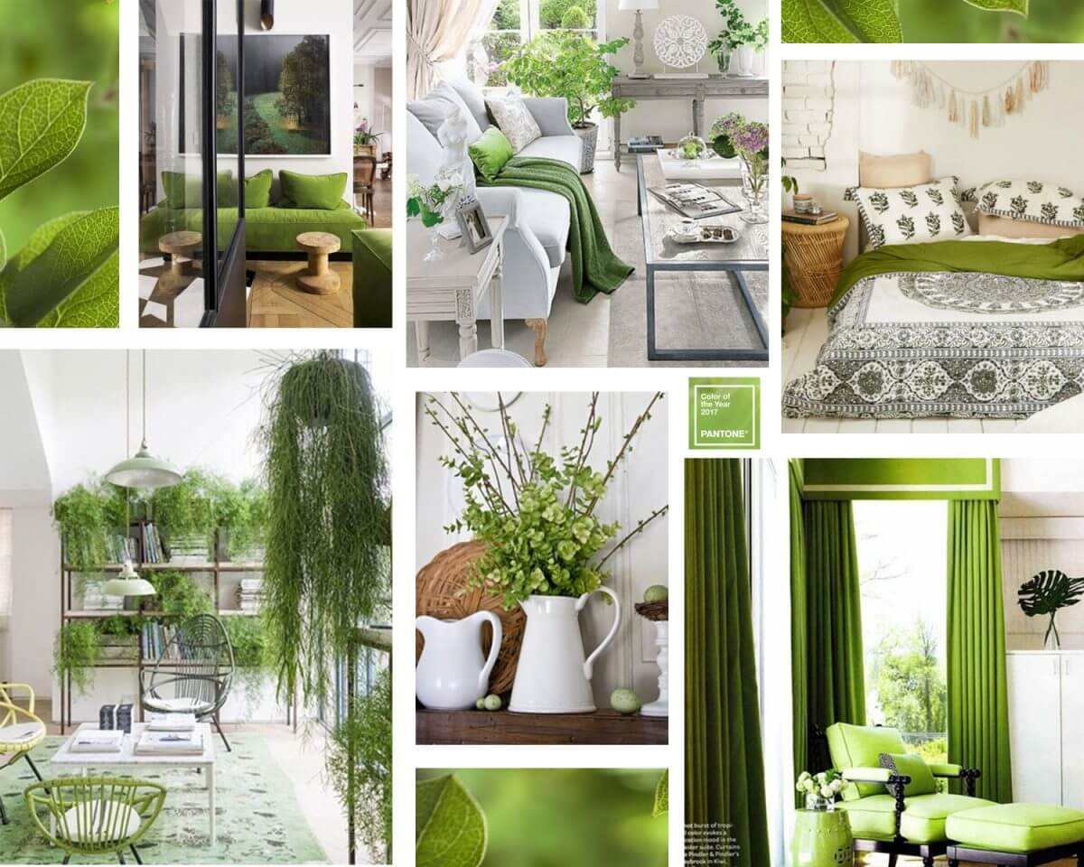 pantone colour of the year 2017 united interiors greenery interior styling tips trends
