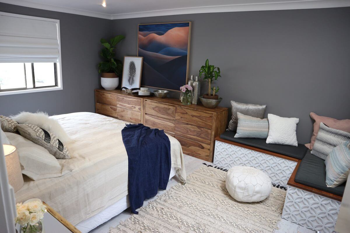 bedroom united interiors artwork