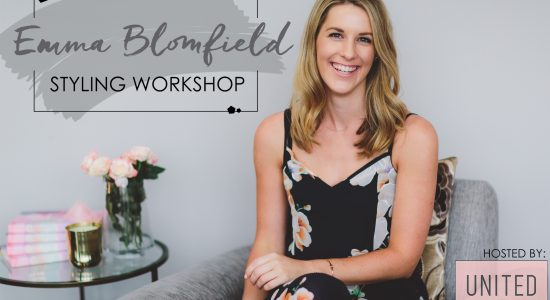 EMMA BLOMFIELD STYLING WORKSHOP AT UNITED INTERIORS