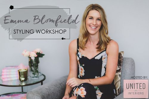 Emma blomfield styling workshop united interiors melbourne book tour decorating home the elements of decorating