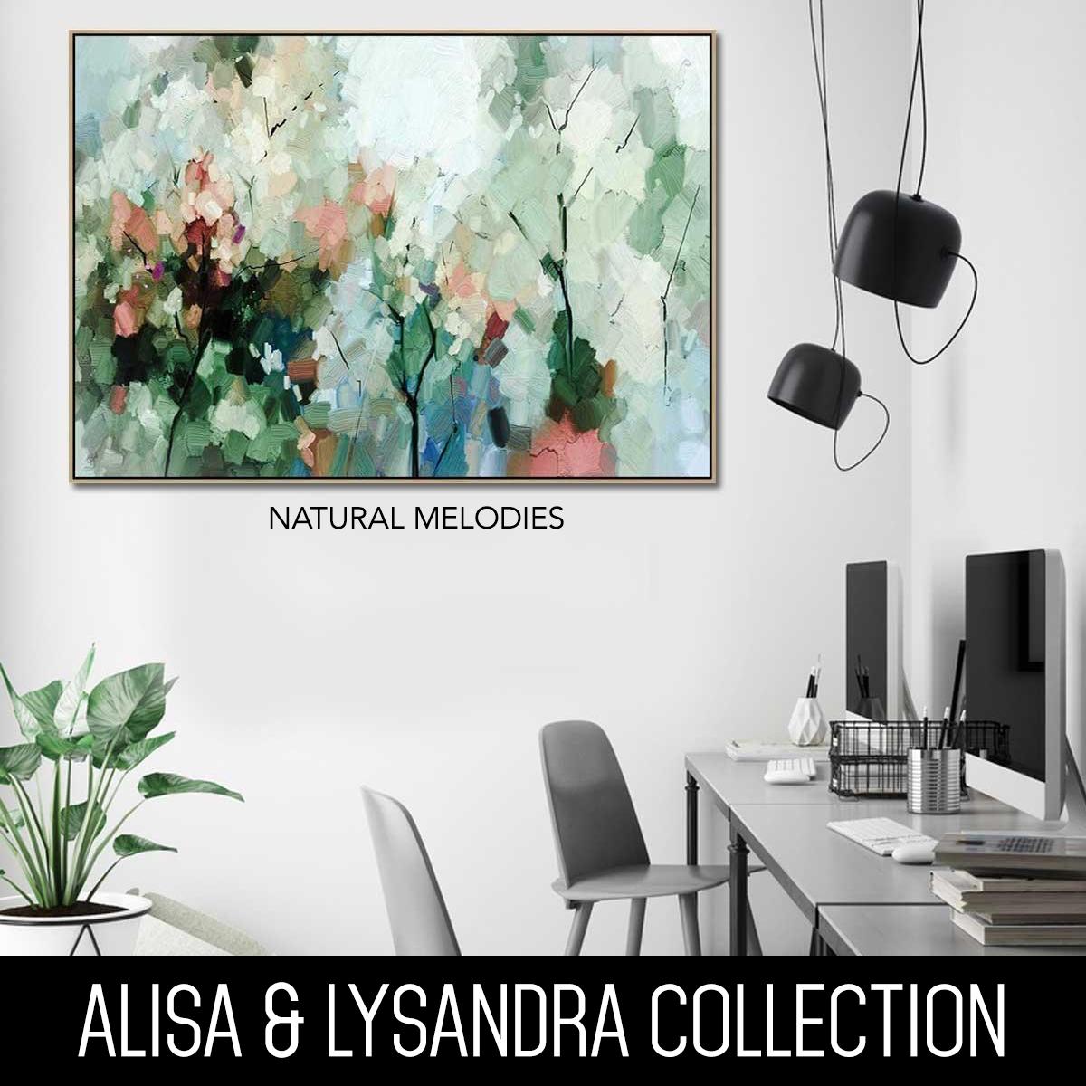 ALISA & LYSANDRA PAINTINGS