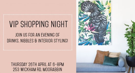 VIP SHOPPING NIGHT at United Interiors!